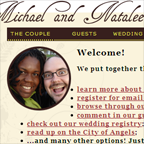 Michael and Natalee dot com